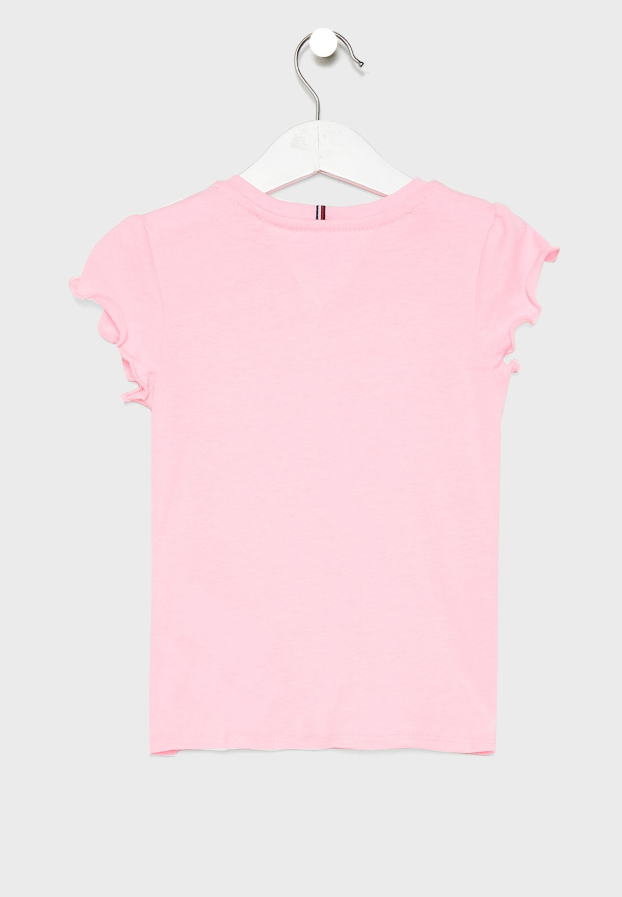 Kids Ruffle Sleeve Top