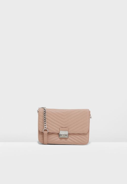 Cindy Quilted Chain Crossbody 7b5dae4835e71