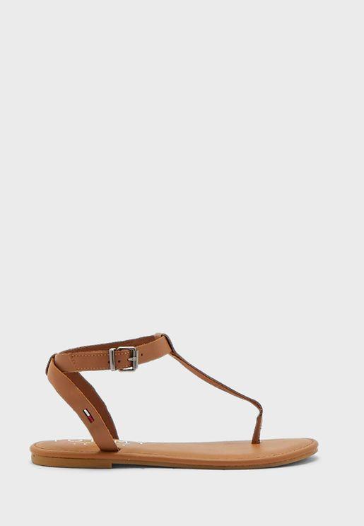 Essential Toe Post Flat Sandal