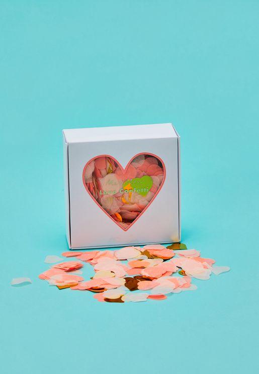 Boxed Love Confetti
