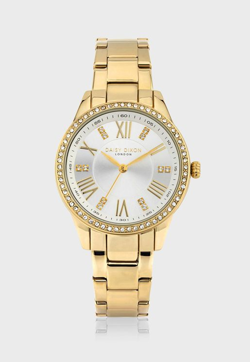 Lily Quartz Analog Watch
