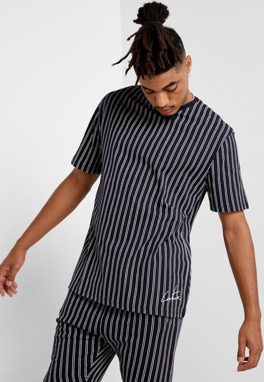 Pinstripe T-Shirt