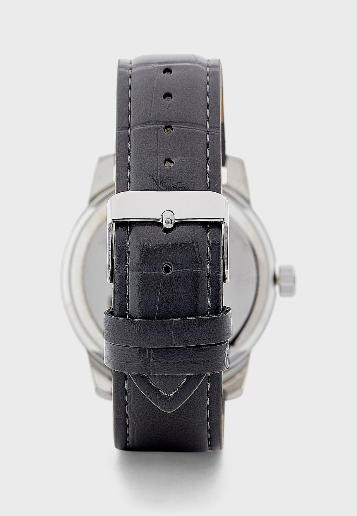 Analogue Watch with Chapter Ring Detail