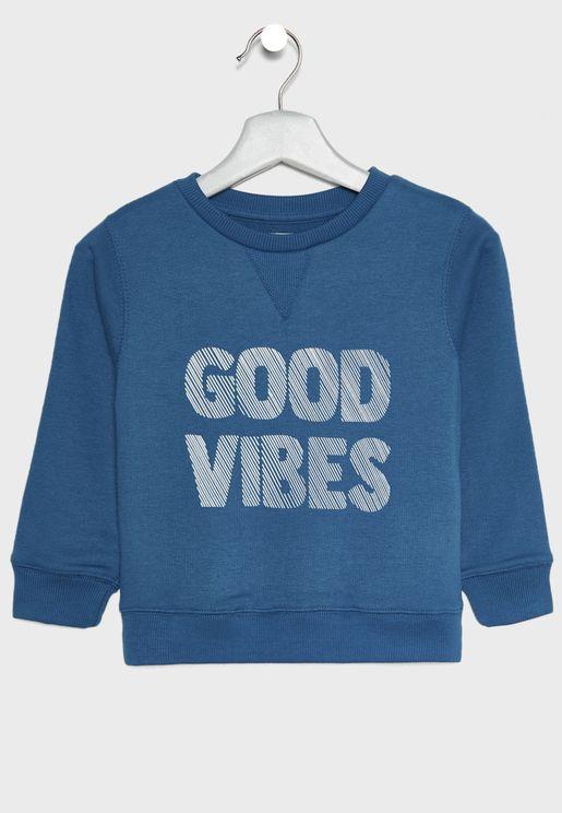 Little Good Vibes Sweatshirt