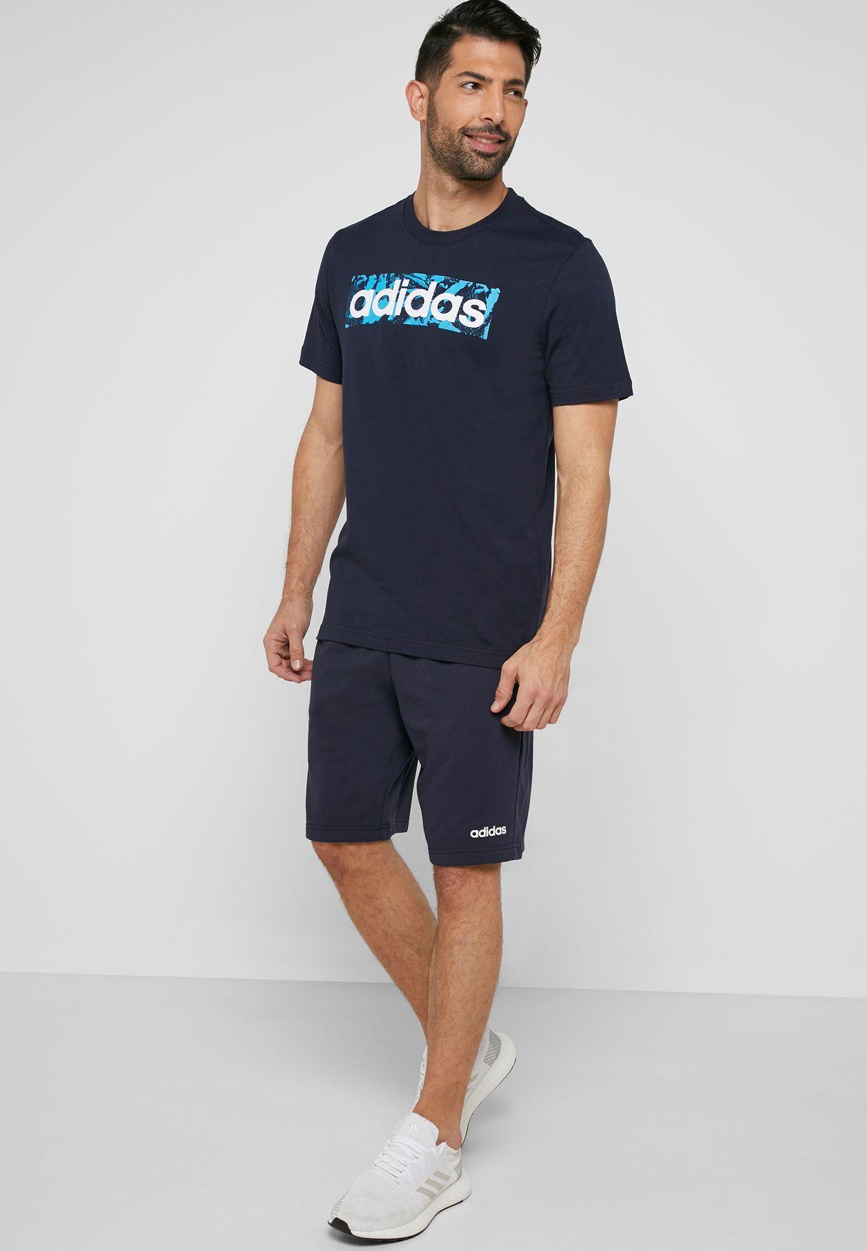 Linear AOP Box T-Shirt