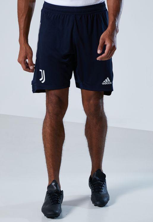 Juventus 3 Stripe Shorts