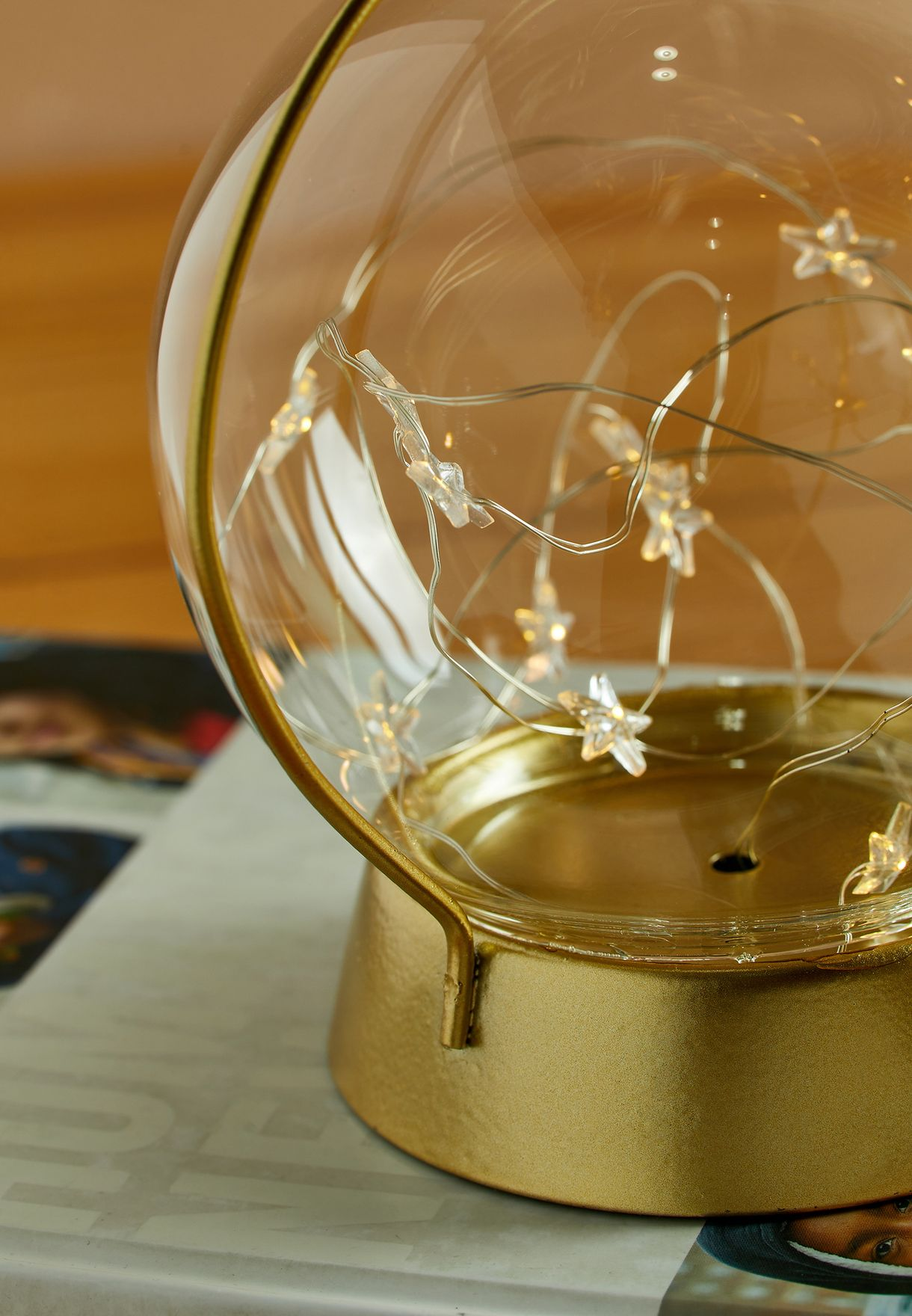 Moon and Stars Table Lamp