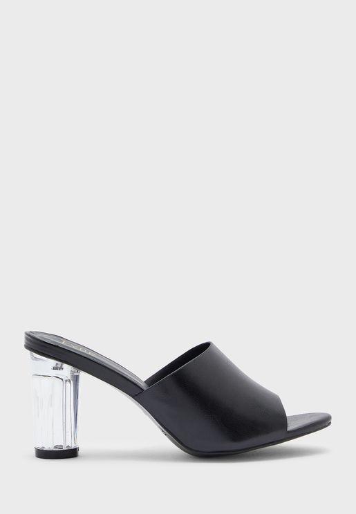 Mule Low Heel Sandal