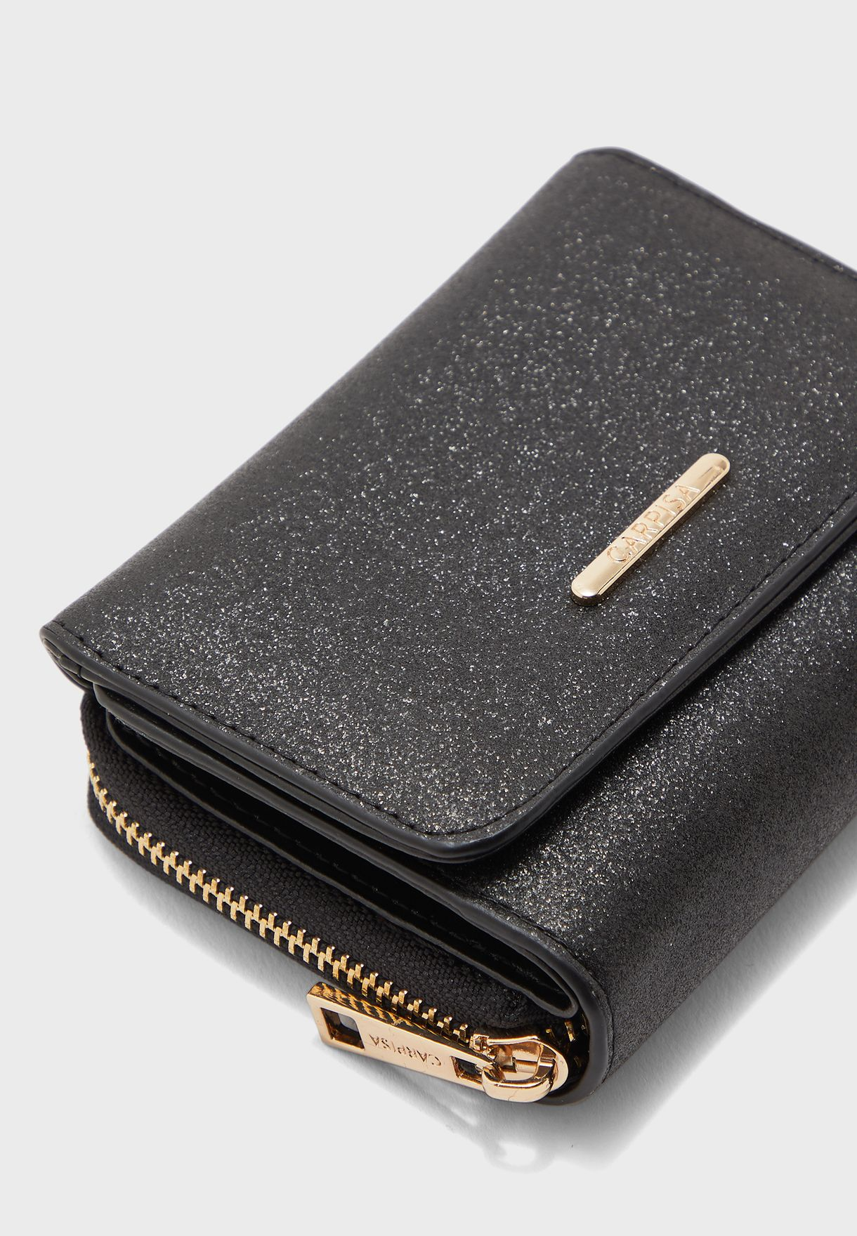 Shimmer Trifold Purse