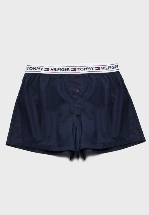 Logo Waist Boxer Shorts
