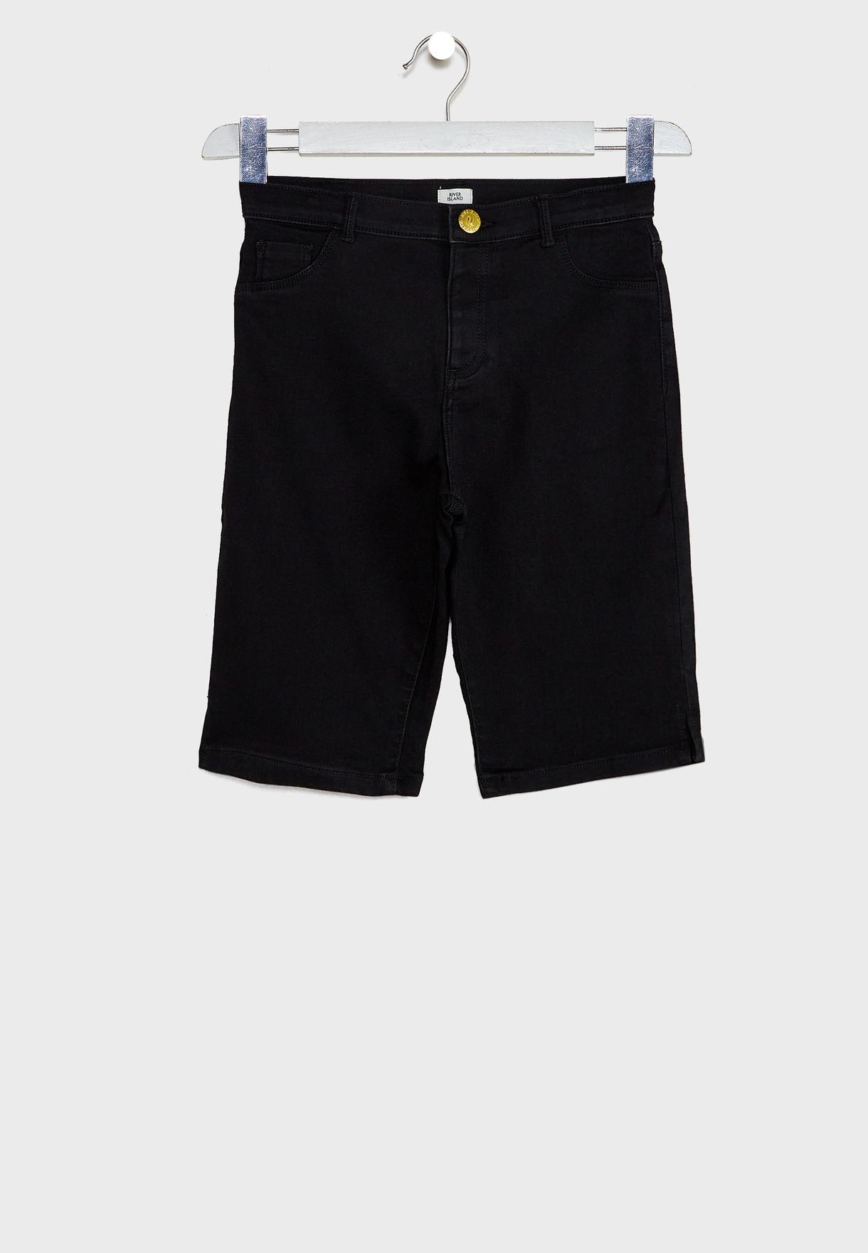 Kids Rinse Denim Shorts