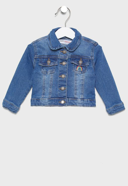 Infant Washed Denim Jacket
