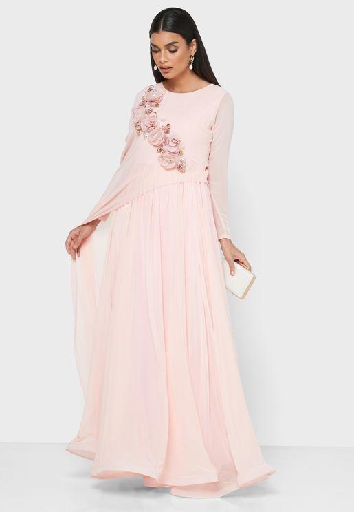 Applique Detail Dress