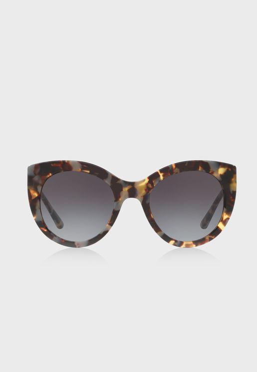 0TY7115  Oversized Sunglasses