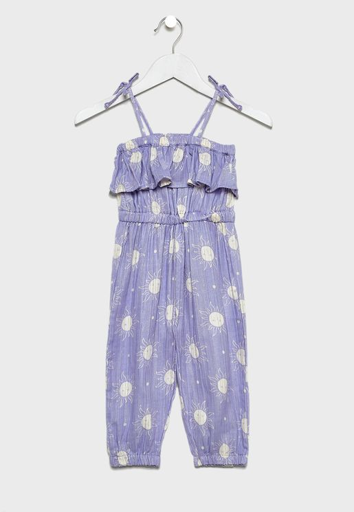 Kids Printed Jumpsuit