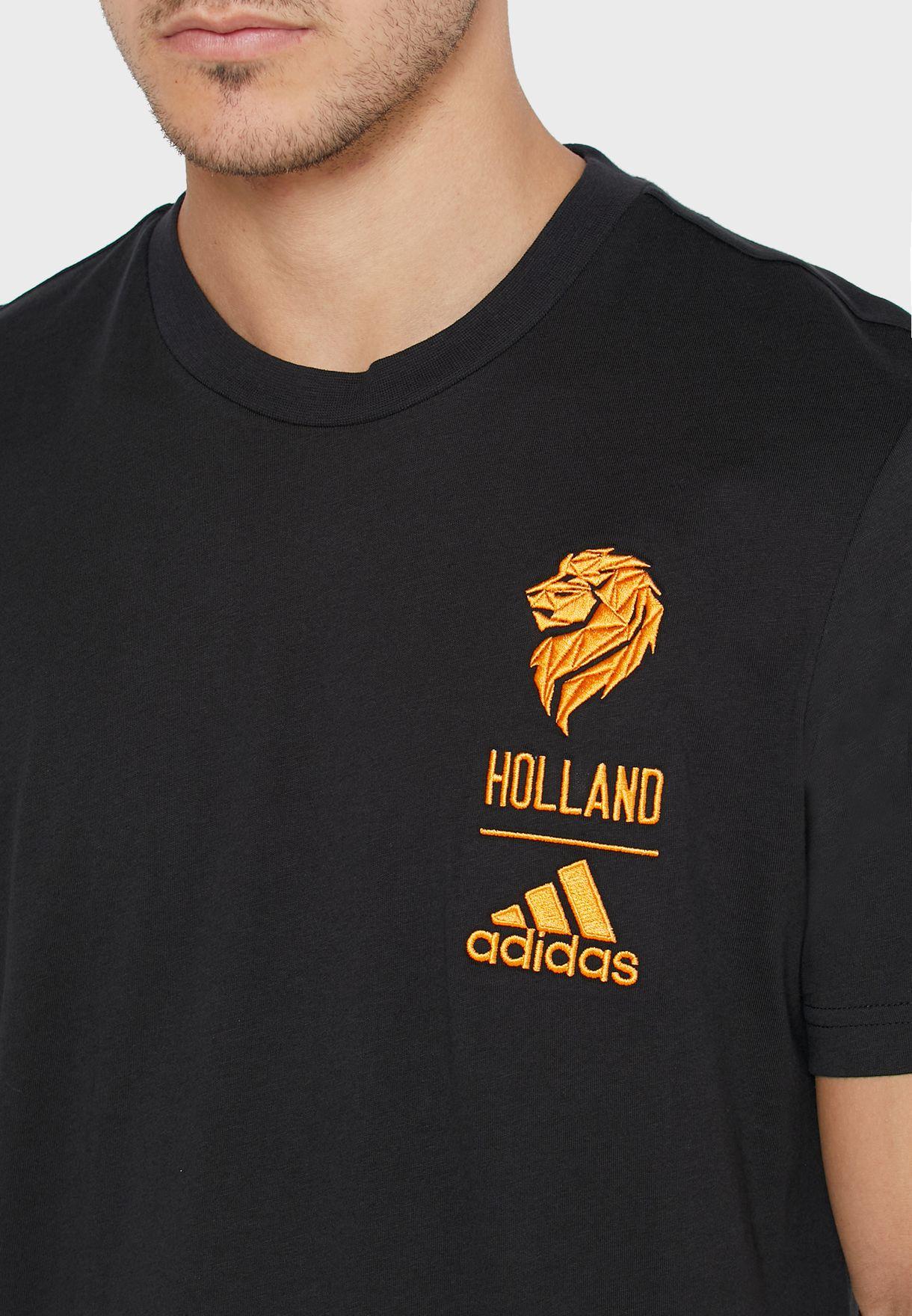تيشيرت بشعار فريق هولندا لكرة القدم