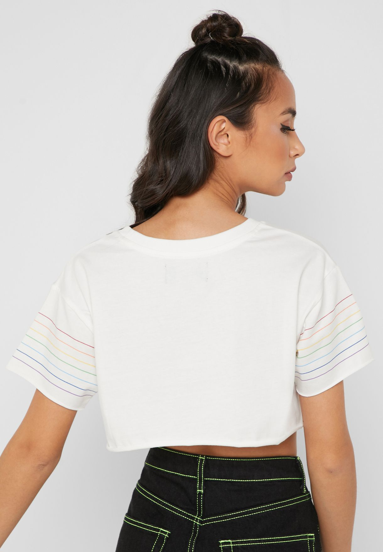 Fluid Planet Cropped Top