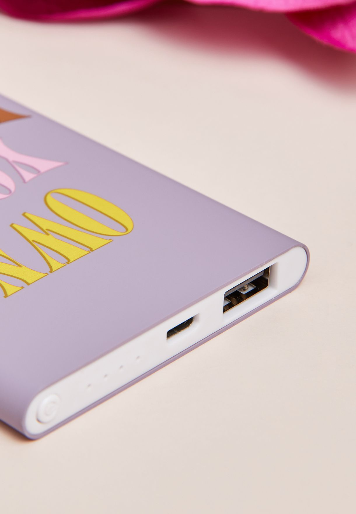 Own Your Power Printed Portable Power Bank