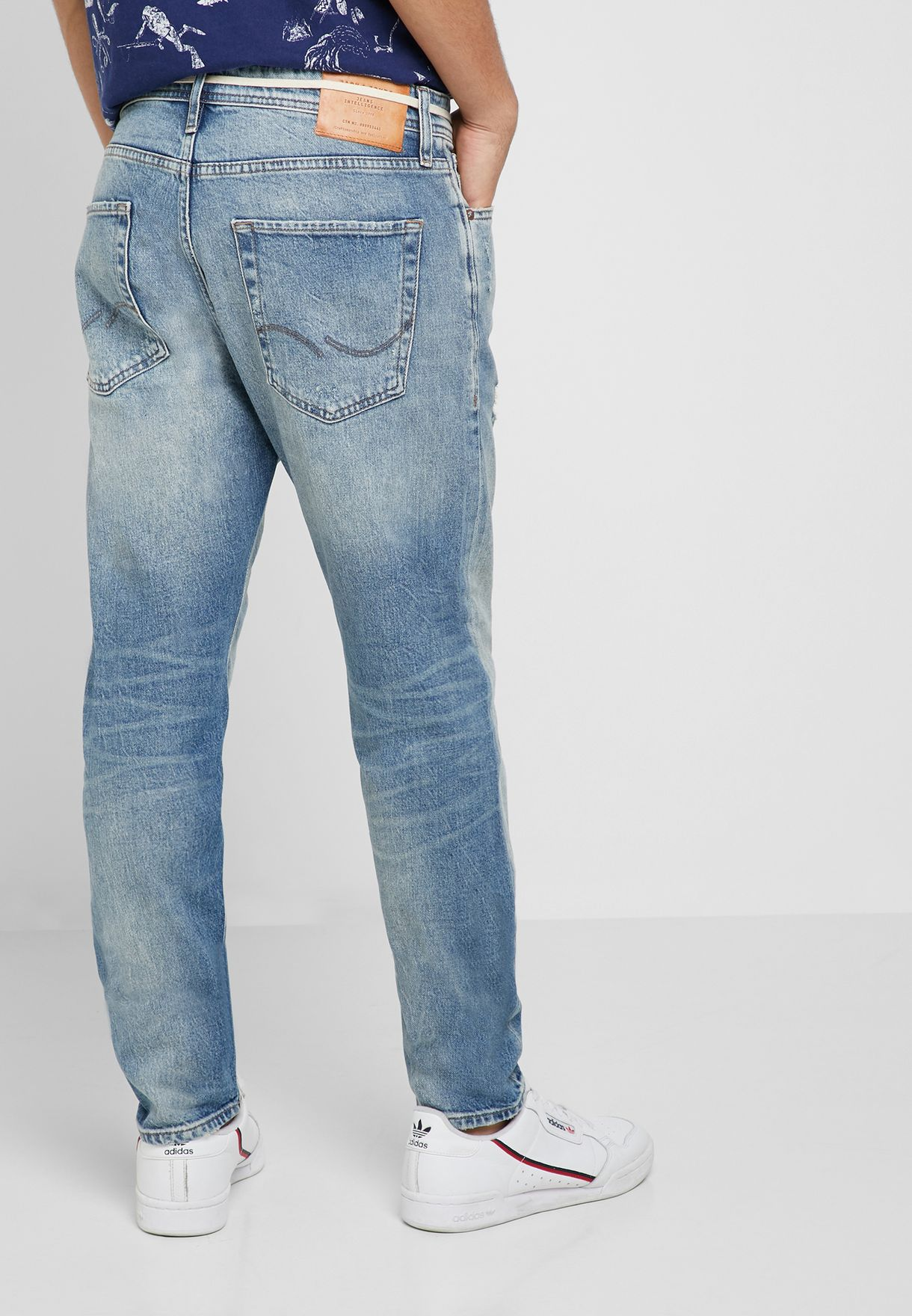 Fred  Distressed Skinny Fit Jeans