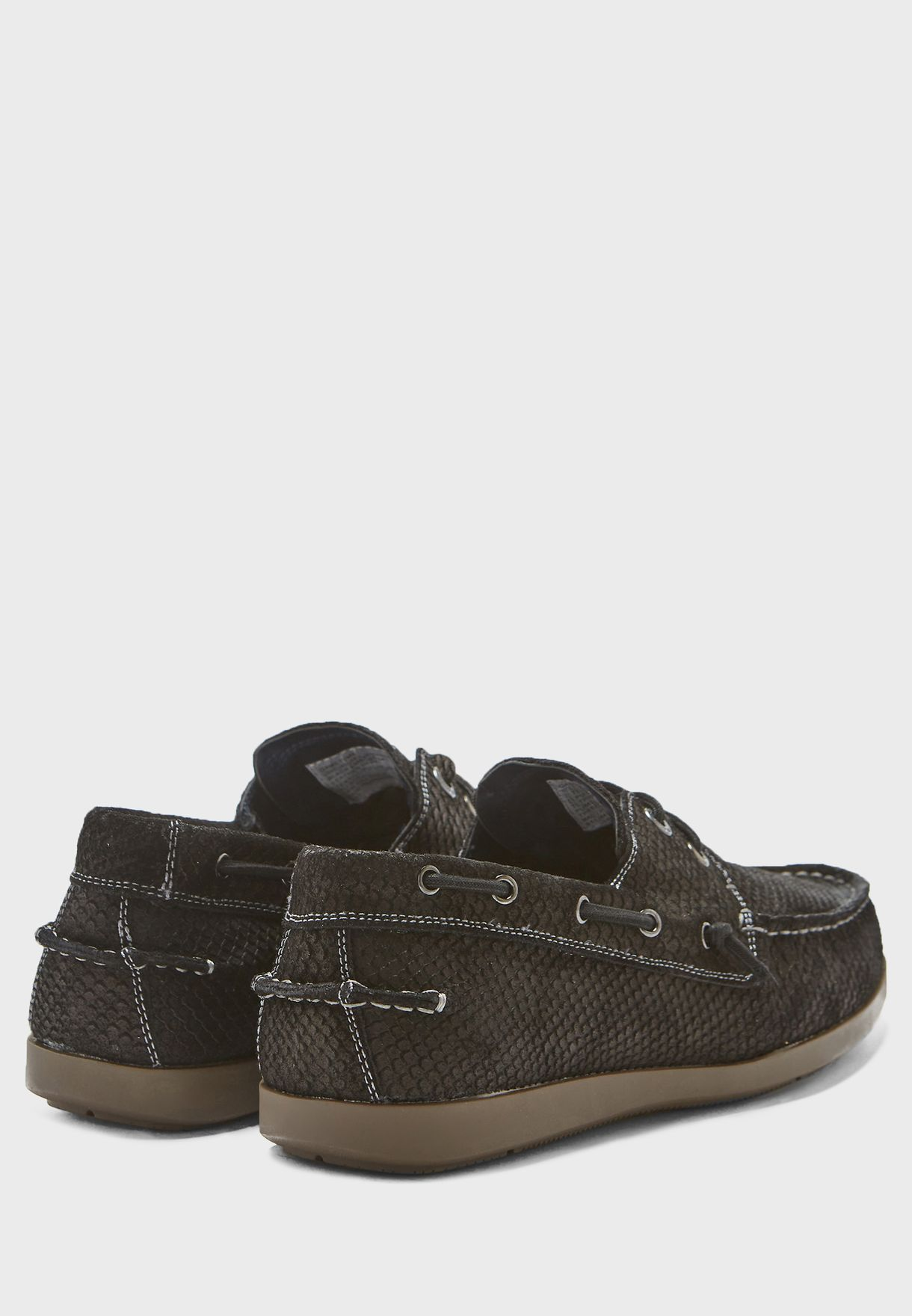 Gametyme Snake Print Boat Shoes