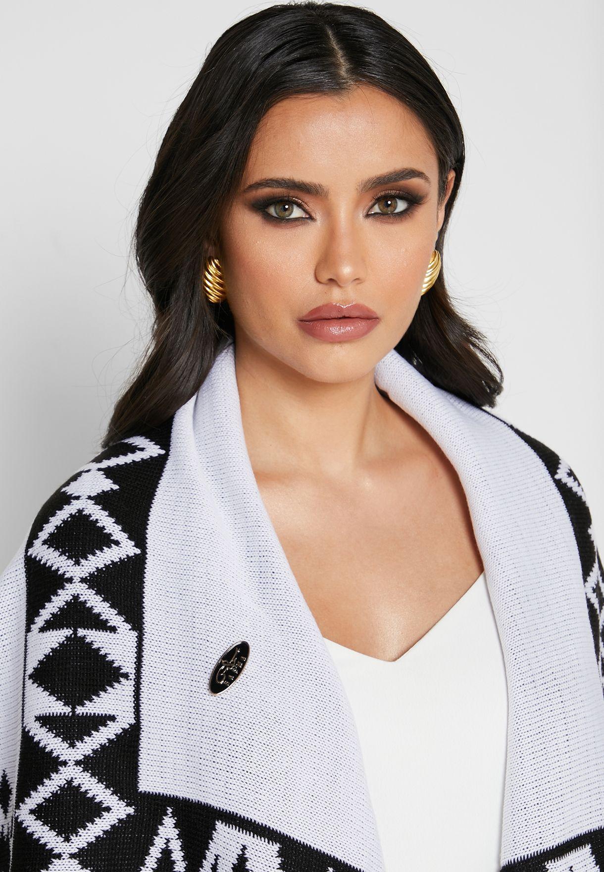 Waterfall Knitted Woollen Abaya