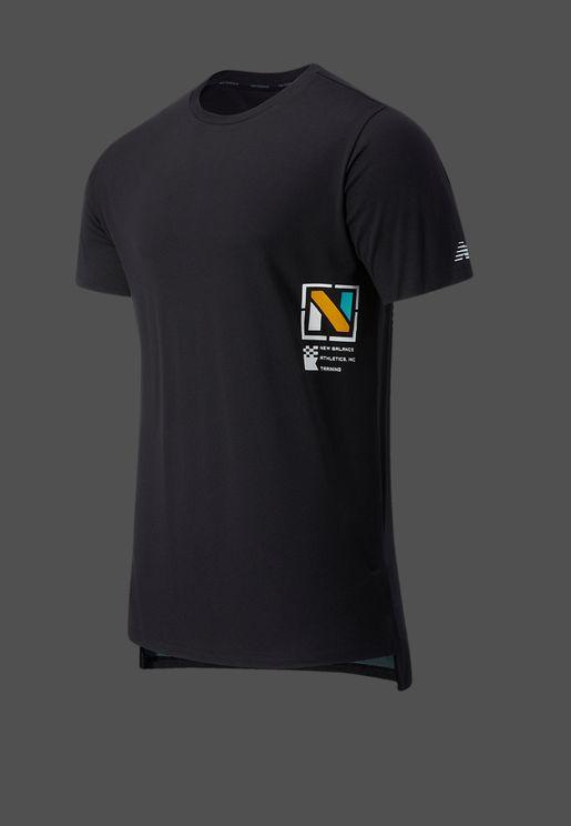 R.W.T. Graphic Heathertech T-Shirt