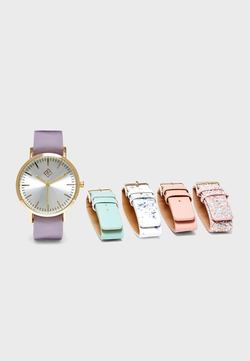 Lelidith 5 Interchangeable Strap Set