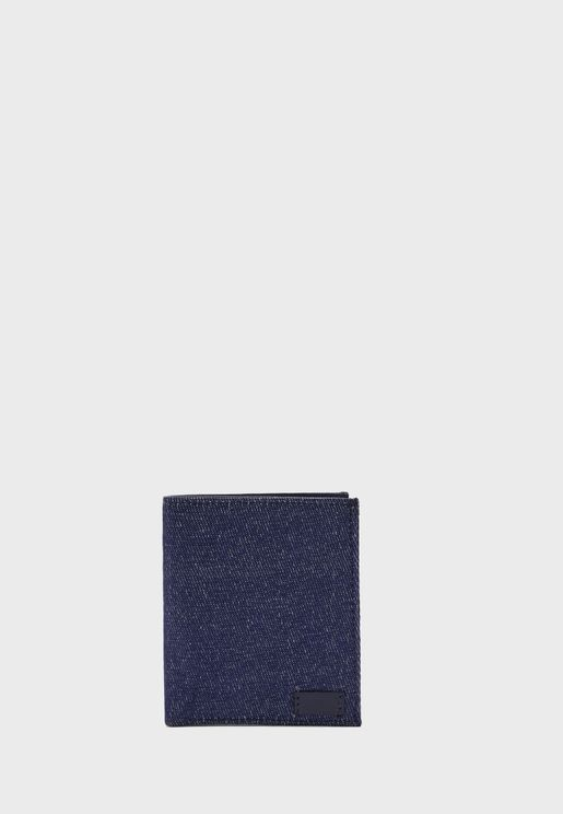 Denim Wallet with Multiple Card Slots