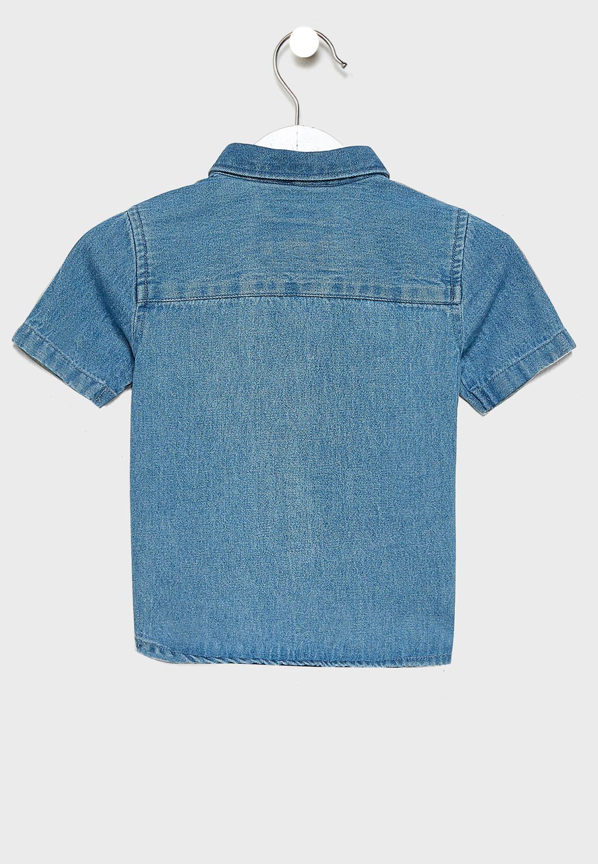 قميص جينز للبيبي