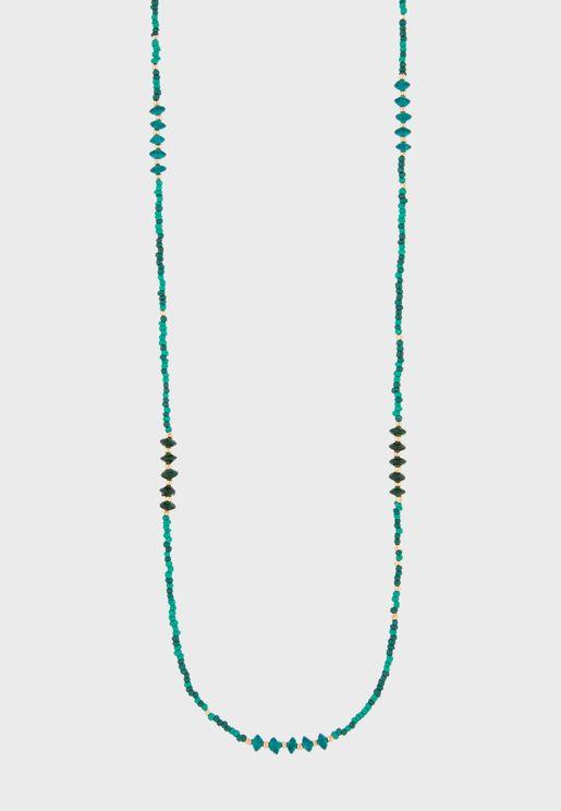 Kids Skinny Seedbead Rope Necklace