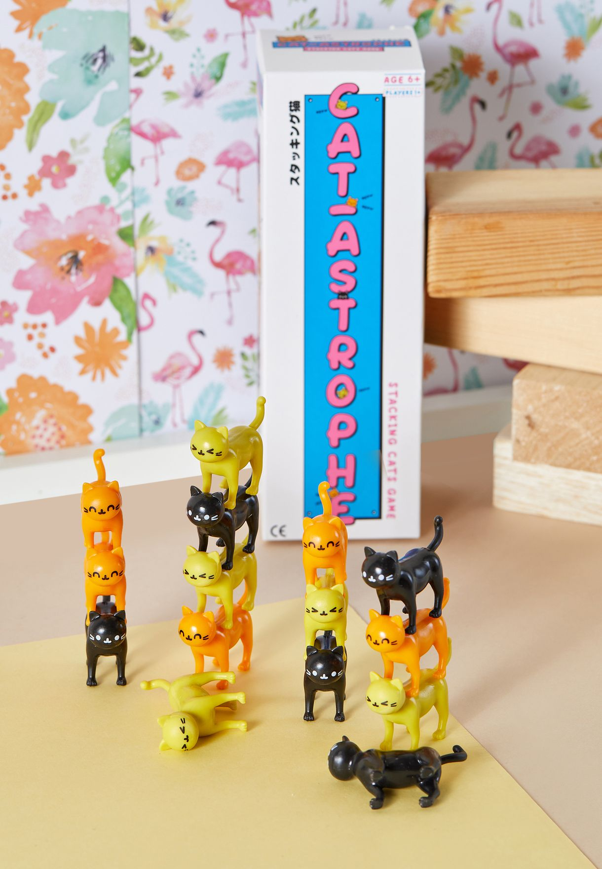 لعبة من مجموعة قطط ترص