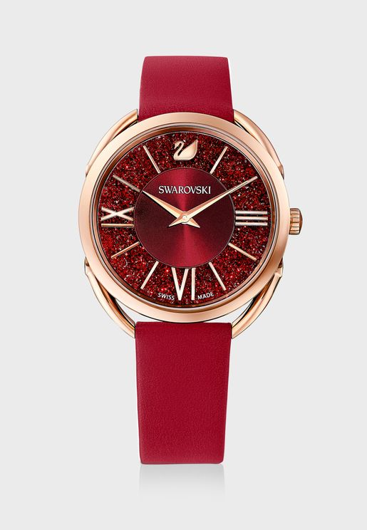 Crystalline Glam Analog Watch