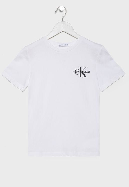 Kids Monogram T-Shirt