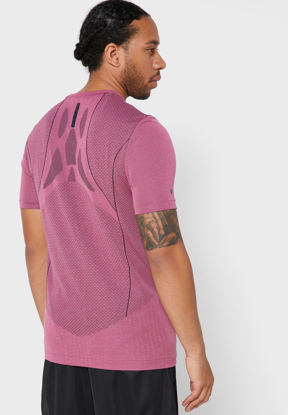 Rush HeatGear Seamless T-Shirt
