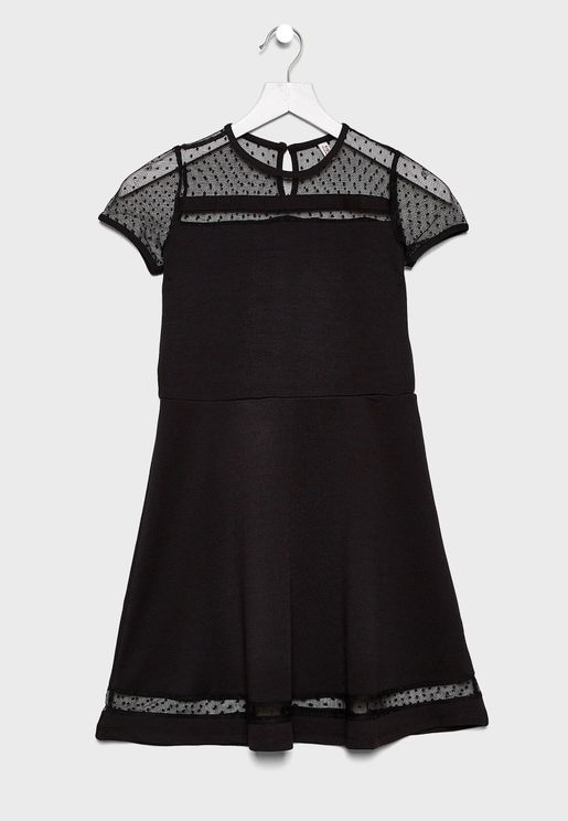 Kids Sheer Dress
