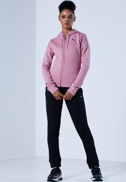 Classic Fleece Hooded Tracksuit