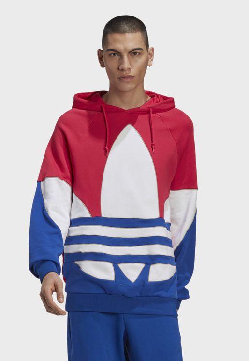 Trefoil Adicolor Casual Men's Sweatshirt Hoodie