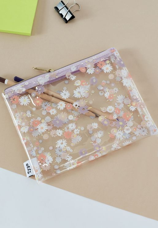 Dolly Daisy Clear It Pencil Case