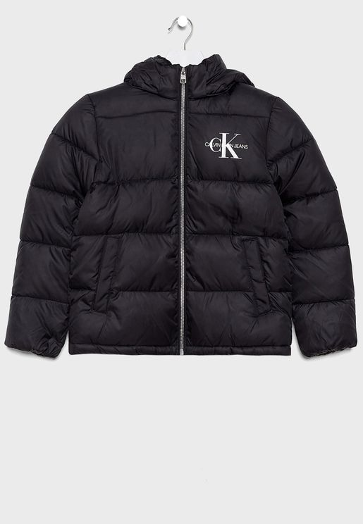 Kids Essential Puffer Jacket