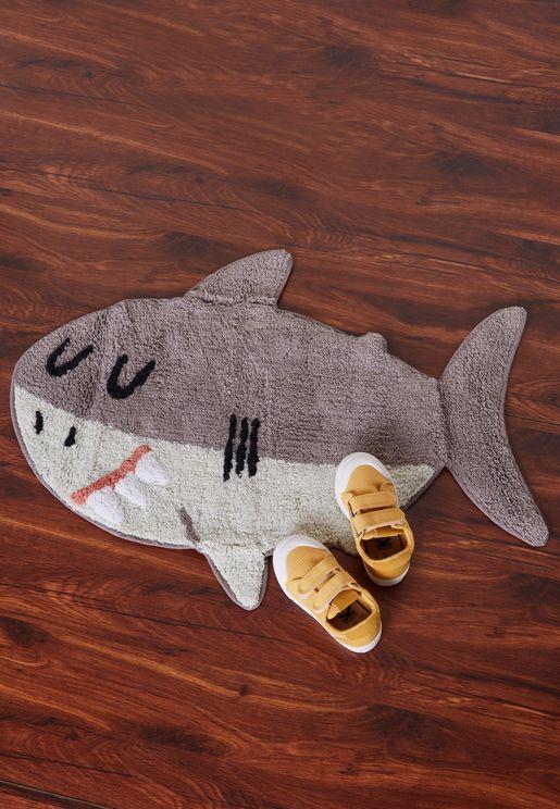 سجادة صغيرة بشكل القرش شيلبي