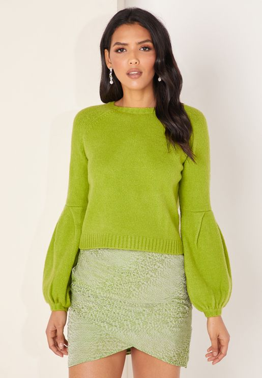 Carlotta Wide Sleeve Sweater