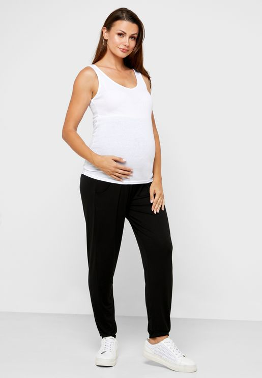 Over Bump Sweatpants