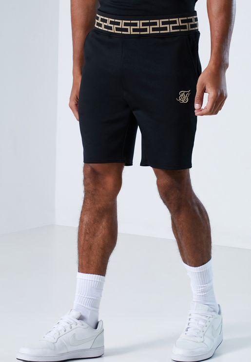 Raglan Ribbed Shorts
