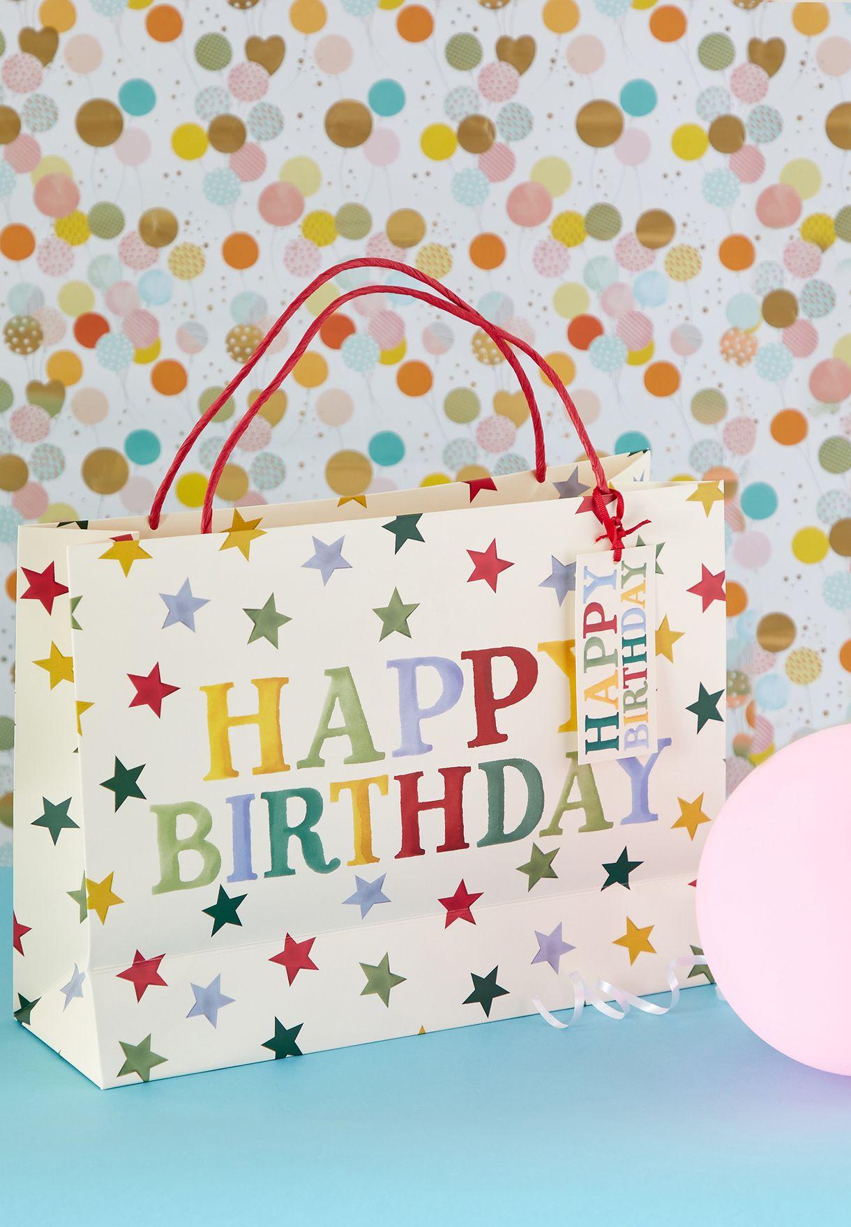 Happy Birthday Large Gift Bag
