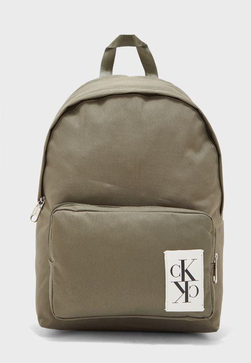 Mirrored Logo Backpack