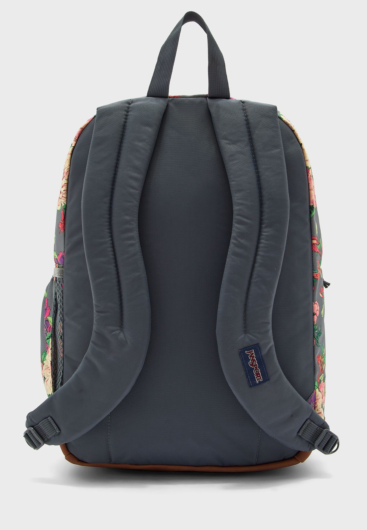 Cool Student Flower Print Backpack
