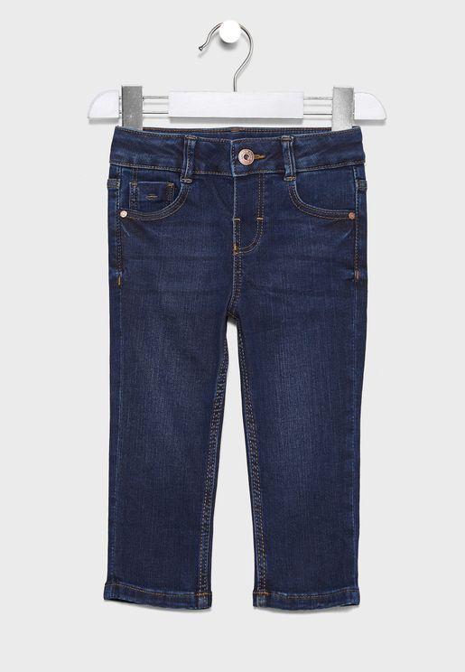 Infant Dark Wash Slim Fit Jeans