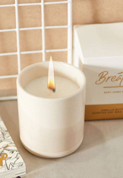 Glaze Vanilla Scented Candle