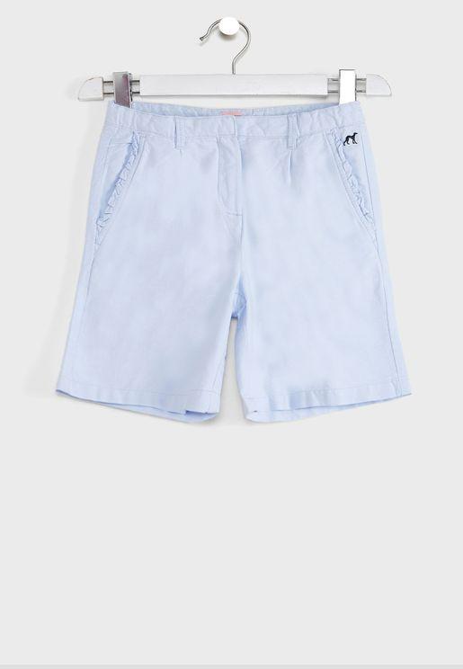 Kids Frill Pocket Shorts