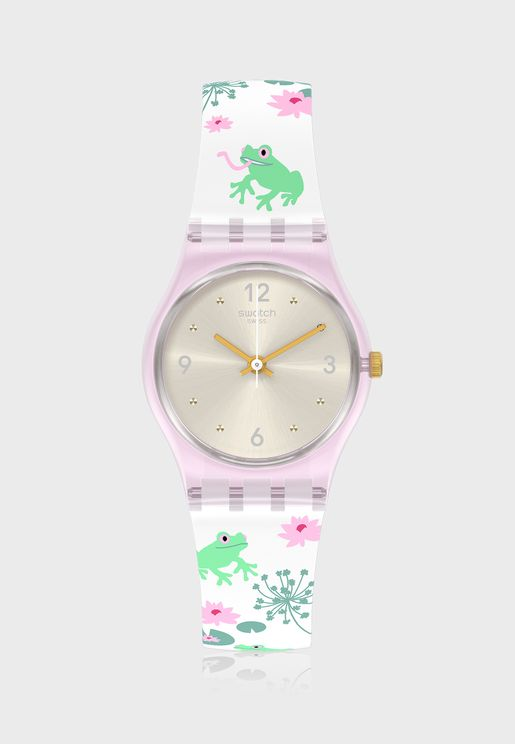 Enchanted Pond Analog Watch